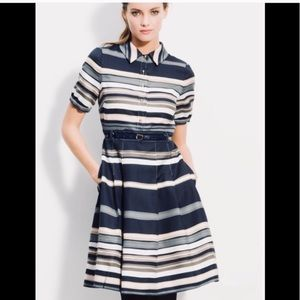 Kate Spade Striped Jeanette Dress